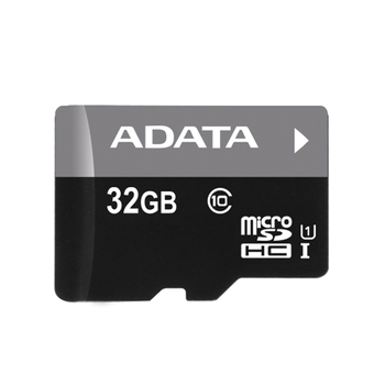 Micro SDHC 32GB UHS-I Class 10 + SD Adapter, Adata