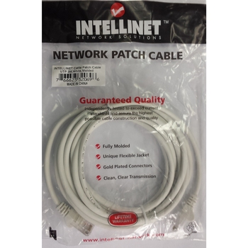 Patch cable UTP Cat. 5e 3m Intellinet