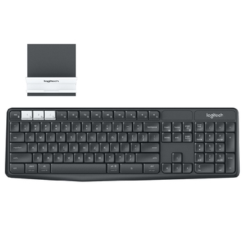 Keyboard Logitech Wireless/Bt Multi-Device K375s