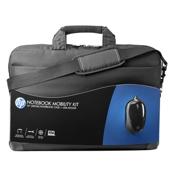 "Notebook Bag 15.6""+ Mouse, HP Mobility Kit"