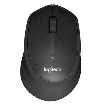 Mouse Logitech M330 Silent Plus Wireless, Black