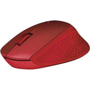 Mouse Logitech M330 Silent Plus Wireless, Red
