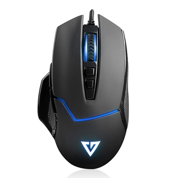 Mouse Modecom Volcano MC-GMX4 Plus Gaming, Black