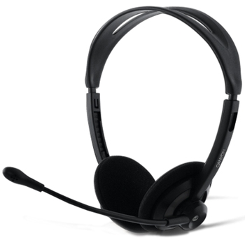 HEADSET Canyon Stereo w/mic CNR-FHS04, Black