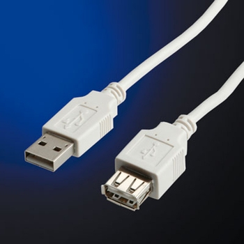 Cable USB2.0 type A-A M/F,1.8m (11.99.8949), Value