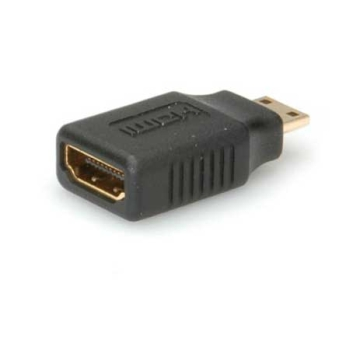 Adapter HDMI F - HDMI Mini M, Roline 12.03.3152