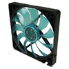 GELID Fan 12cm, 3pin, FN-FW12SLIMB-15 Slim UV Blue