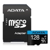 Micro SDXC 128GB UHS-I Class 10 + SD Adapter,Adata