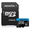Micro SDXC 256GB UHS-I Class 10 + SD Adapter,Adata