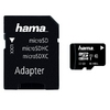 Micro SDHC 32GB 80 MB/s Class 10 +SD Adapter, Hama