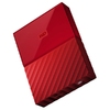 "HDD Ext WD My Passport, 2TB,2.5"", U3.0, Red"