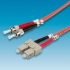 Fiber Optic 62.5-125um, ST-SC, 3m, Value