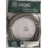 Patch cable FTP Cat. 5e 5m Krone, Gray
