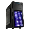 Case Antec ATX Gaming GX200 Blue w Window, Black