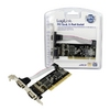 Serial card RS232, 32bit PCI, 2 x Com port, PC0016