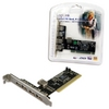 PCI card 4 ext + 1 int USB2.0 port,LogiLink PC0028