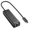USB3.0 type C to Giga LAN + 3xU3.0 HUB, Sharkoon