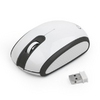 Mouse GMB MUSW-105, Wireless, Black+White