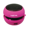 LogiLink SP0012 Pink, Portable, Flexible, 2.5W