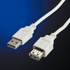 Cable USB2.0 A-A M/F, 0.8m, Value 11.99.8946