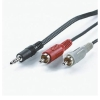 Cable 3.5mm-M/2X RCA-M, 1.5m, Value 11.99.4341