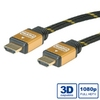 Cable HDMI M - M, v1.4, Gold, 20m, (11.04.5510)