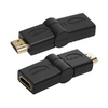 Adapter HDMI M/F, 180 degrees, LogiLink AH0011