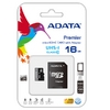 Micro SDHC 16GB UHS-I Class 10 + SD Adapter, Adata