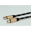 Cable USB2.0 A-B, 1.8m,Gold,Roline 11.02.8802