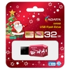 Flash U2.0, 32GB, A-Data UV100F, Christmas