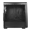 Case Antec ATX Gaming NX220 RGB Temp. Glass, Black