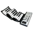 Piano Soft Keyboard 61 Key, USB/MIDI, UA0104