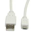 Cable USB2.0 type A-Micro B, M/M, 0.8m, S3151